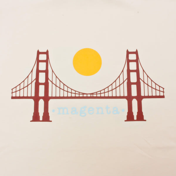 Magenta SF T Shirt Natural