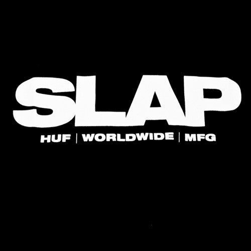 Slap X Huf Tee Black