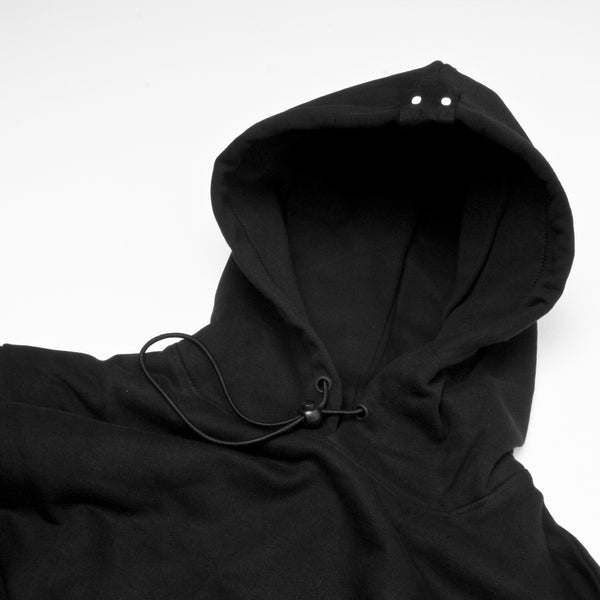 Öctagon Rebel Hood Black