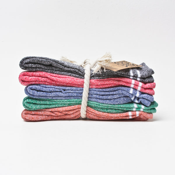 Pass~Port Hi Heather Sox 5 Pack