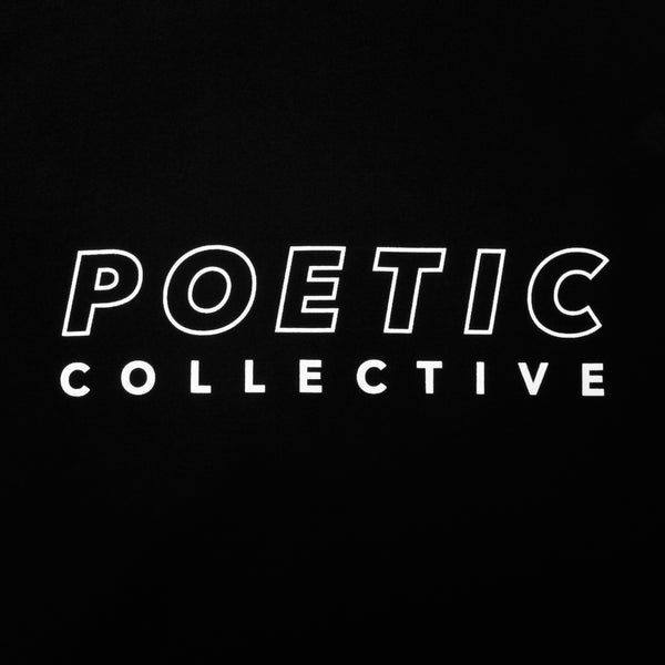 Poetic Collective Sports T Shirt Black
