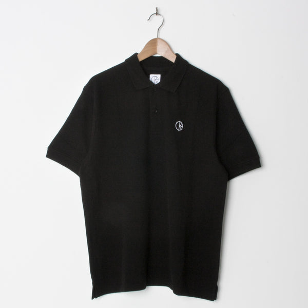 Polar Pique Polo Shirt Black