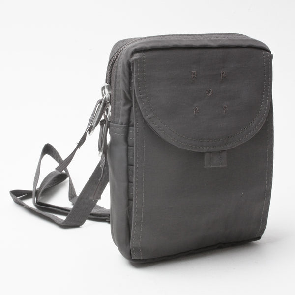 Pop Trading Company Passport Pouch Anthracite