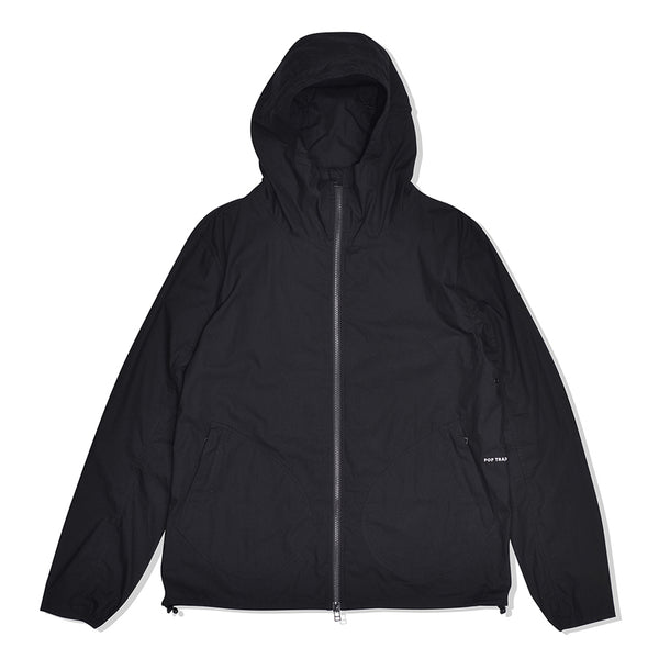 Pop Trading Company Simple Hooded Jacket Black