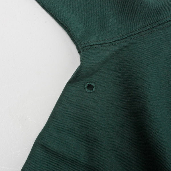 POP TRADING COMPANY SPORTSWEAR LIGHTWEIGHT HALFZIP SPORTS GREEN