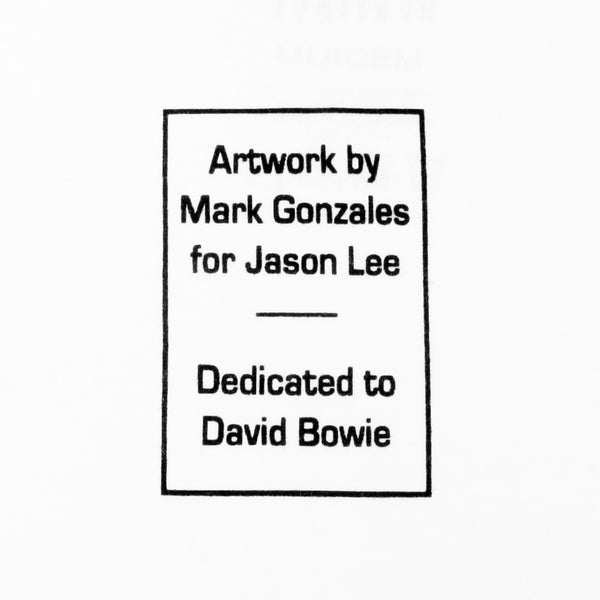 PRIME WOOD LA MARK GONZALES JASON LEE BOWIE TRIBUTE WHITE