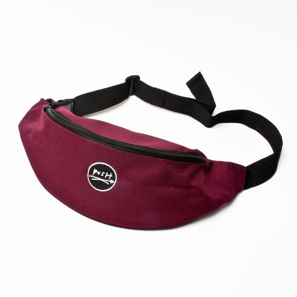 Push Periodical Hip Bag Burgundy