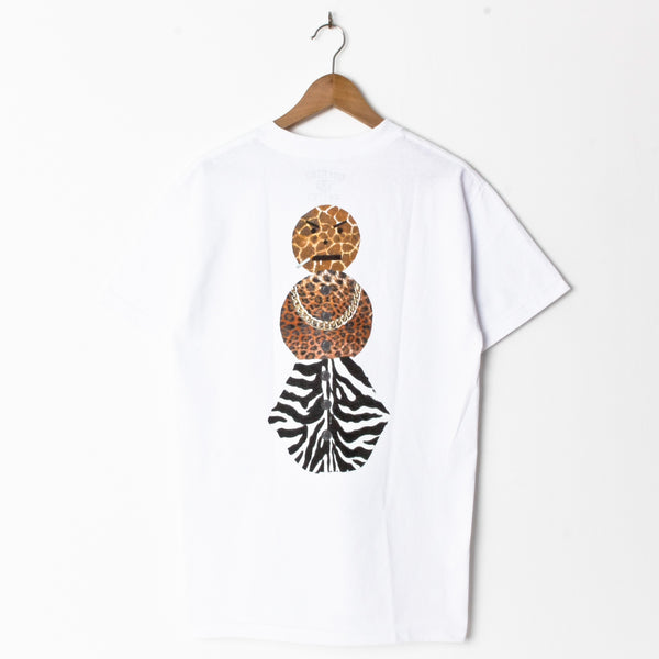 Quartersnacks Safari White (Back Print)
