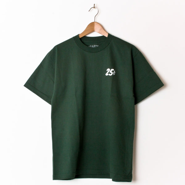 Quartersnacks Snackman Forest Green (Back Print)