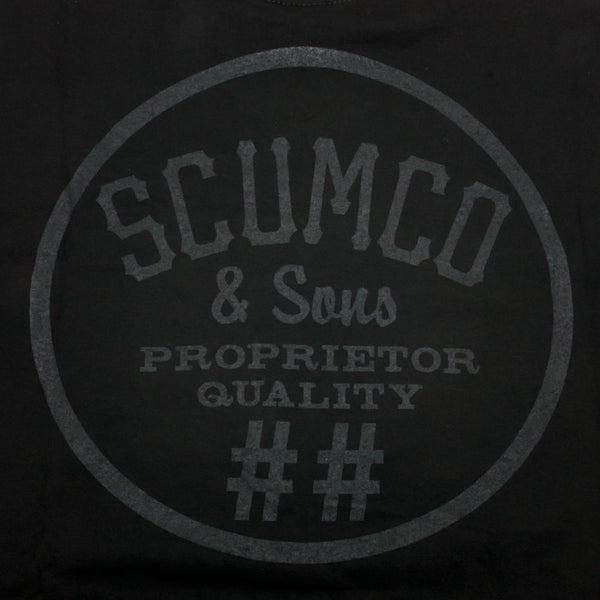 Scumco & Sons Black On Black