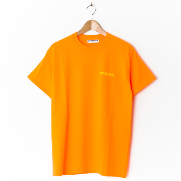 Skate Muzik Adventure Orange (Back Print)