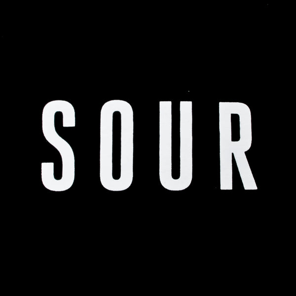Sour Army T Shirt Black
