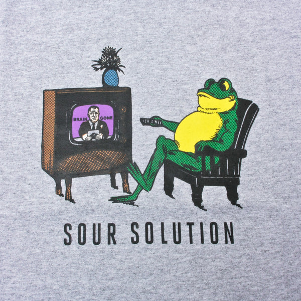 Sour Brain Gone T Shirt Heather Grey