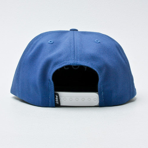 Post Hats & Details Standard Antifit Snapback Blue