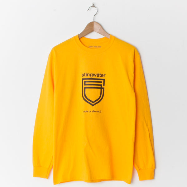 Stingwater Ryde Or Die L/S Yellow