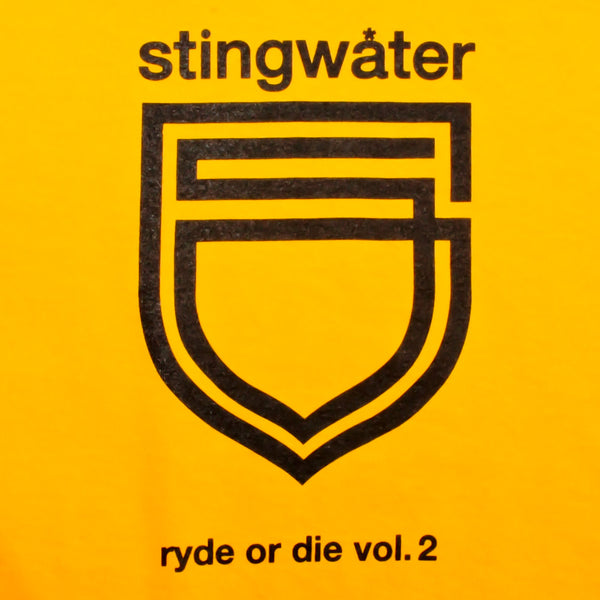 Stingwater Ryde Or Die Longsleeve Yellow