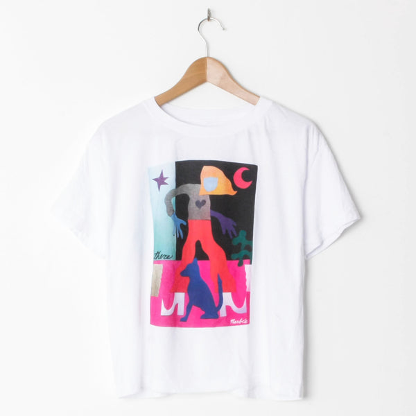 There Marbie Crop T Shirt