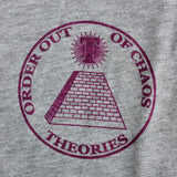 Theories Chaos Heather Grey (Back Print)