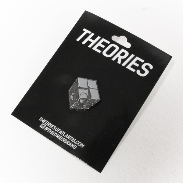 Theories Astor Cube Enamel Pin Badge