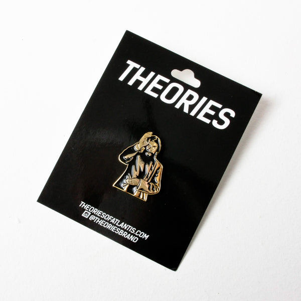 Theories Rasputin Enamel Pin Badge