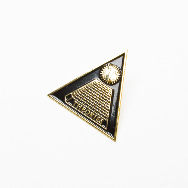 Theories Theoramid Enamel Pin