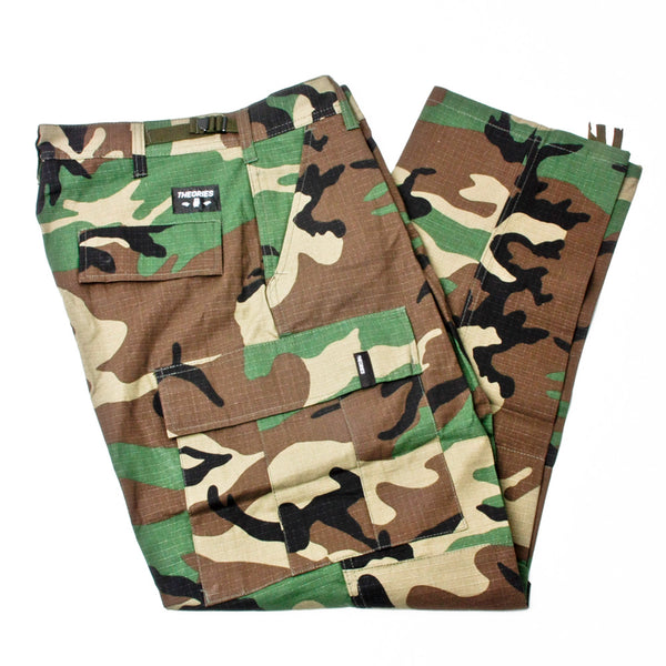 Theories Swat Ripstop Cargo Pants Camo