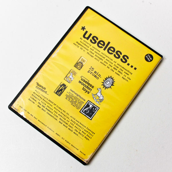 *useless: The New Deal Video Collection 1990-1992