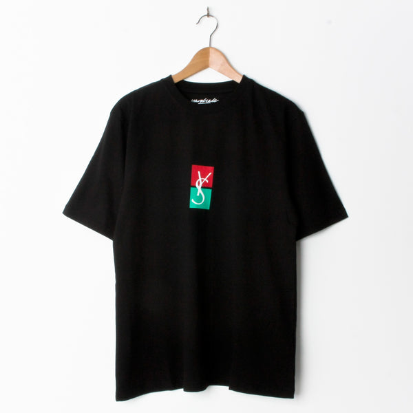 Yardsale YS Split T Shirt Black