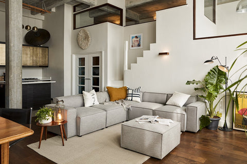Sofa shapes and sizes