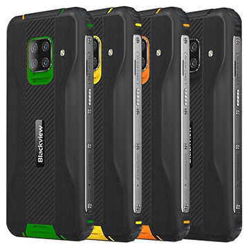 Blackview BV5100 Pro with barcode scanner