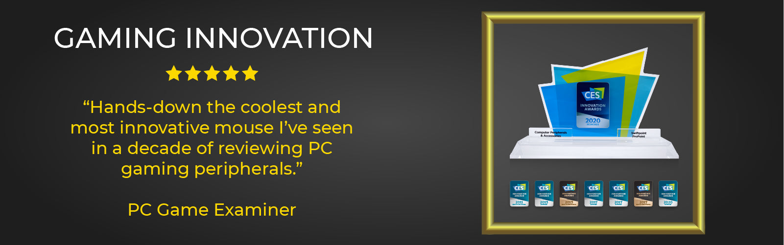 Most innovative gaming mice