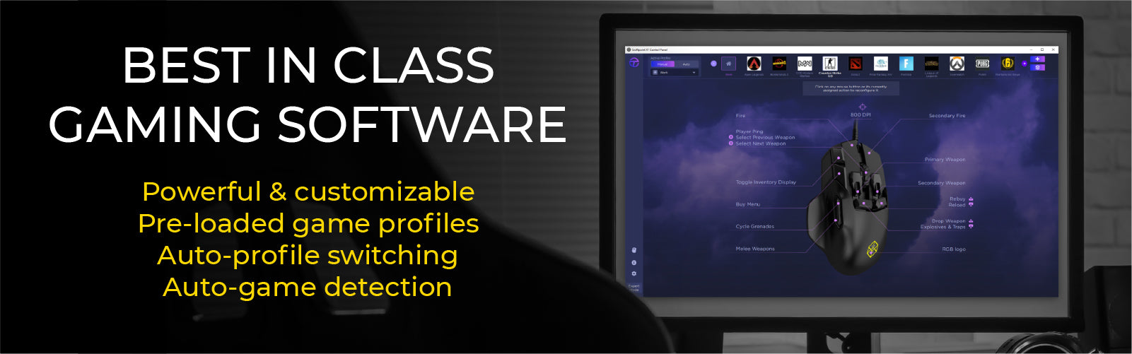 Best in class gaming software