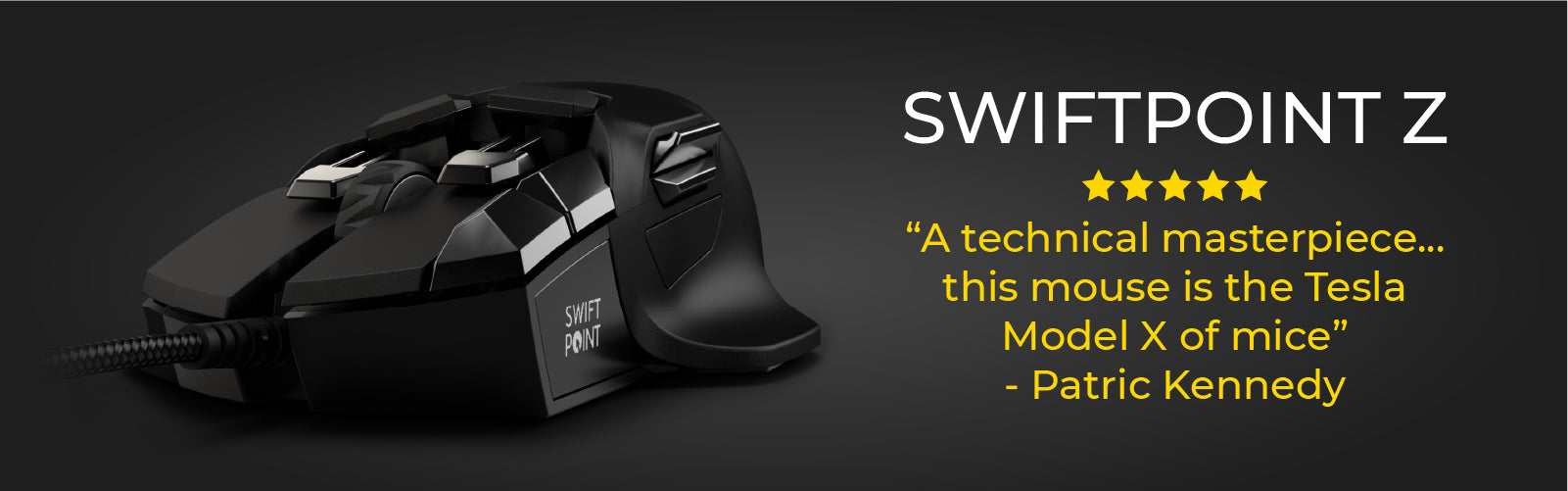 Swiftpoint z gaming mouse