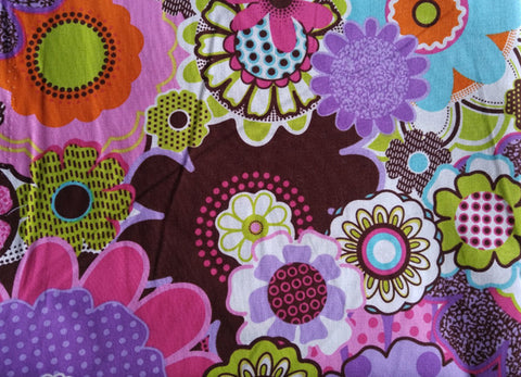 Bright Flowers Fabric
