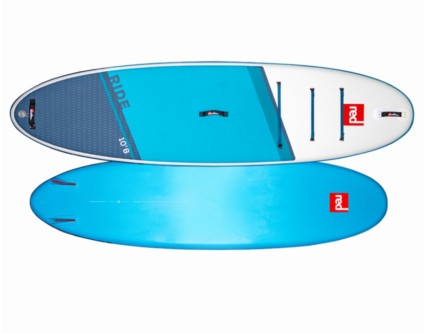 """Red Paddle Co 10' 8"""" RIDE MSL Inflatable Paddle Board"""