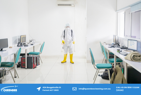 Disinfect office service in Canberra