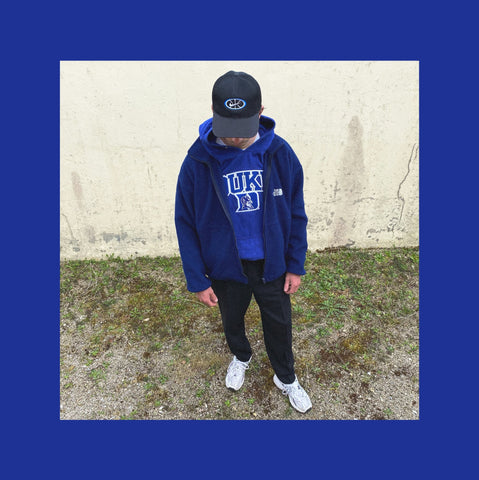 Vintage The North Face Fleece Jacke Outfit