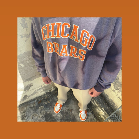 Vintage Chicago Bears College Outfit
