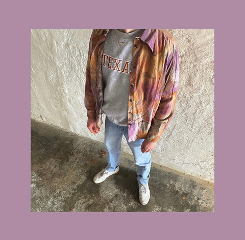 Vintage Nike 90s Hemd Outfit