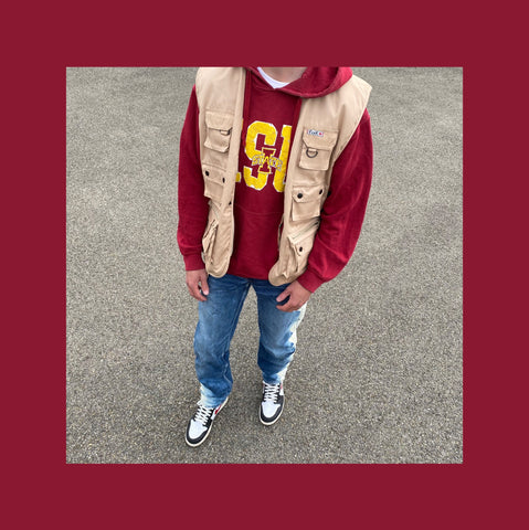 Vintage College Outfit