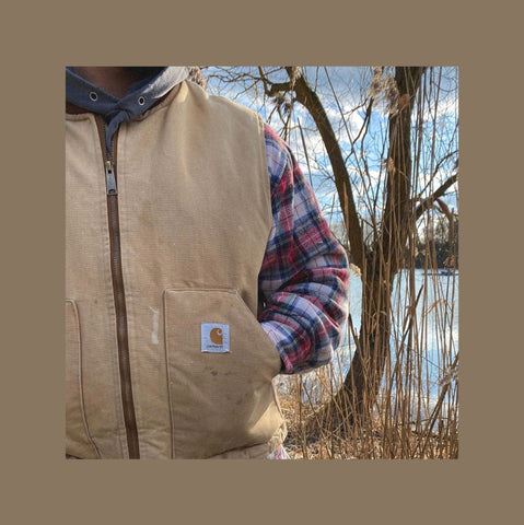 Vintage Carhartt Flanellhemd Outfit