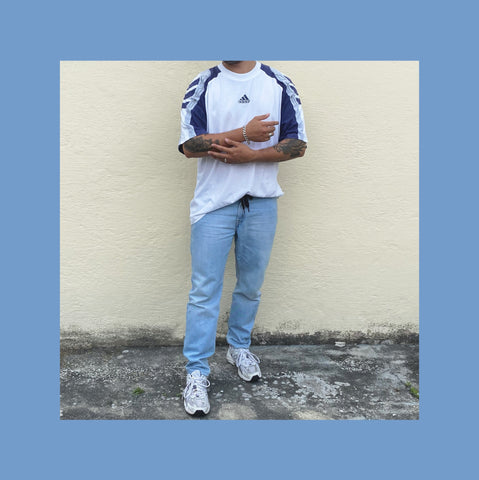 Vintage Adidas T-shirt Outfit