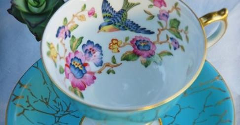 Aynsley China Tea Cup and Saucer and Some Information about Aynsley China