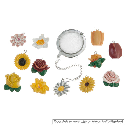 Flower Fob Tea Infusers - Specialtea Teas