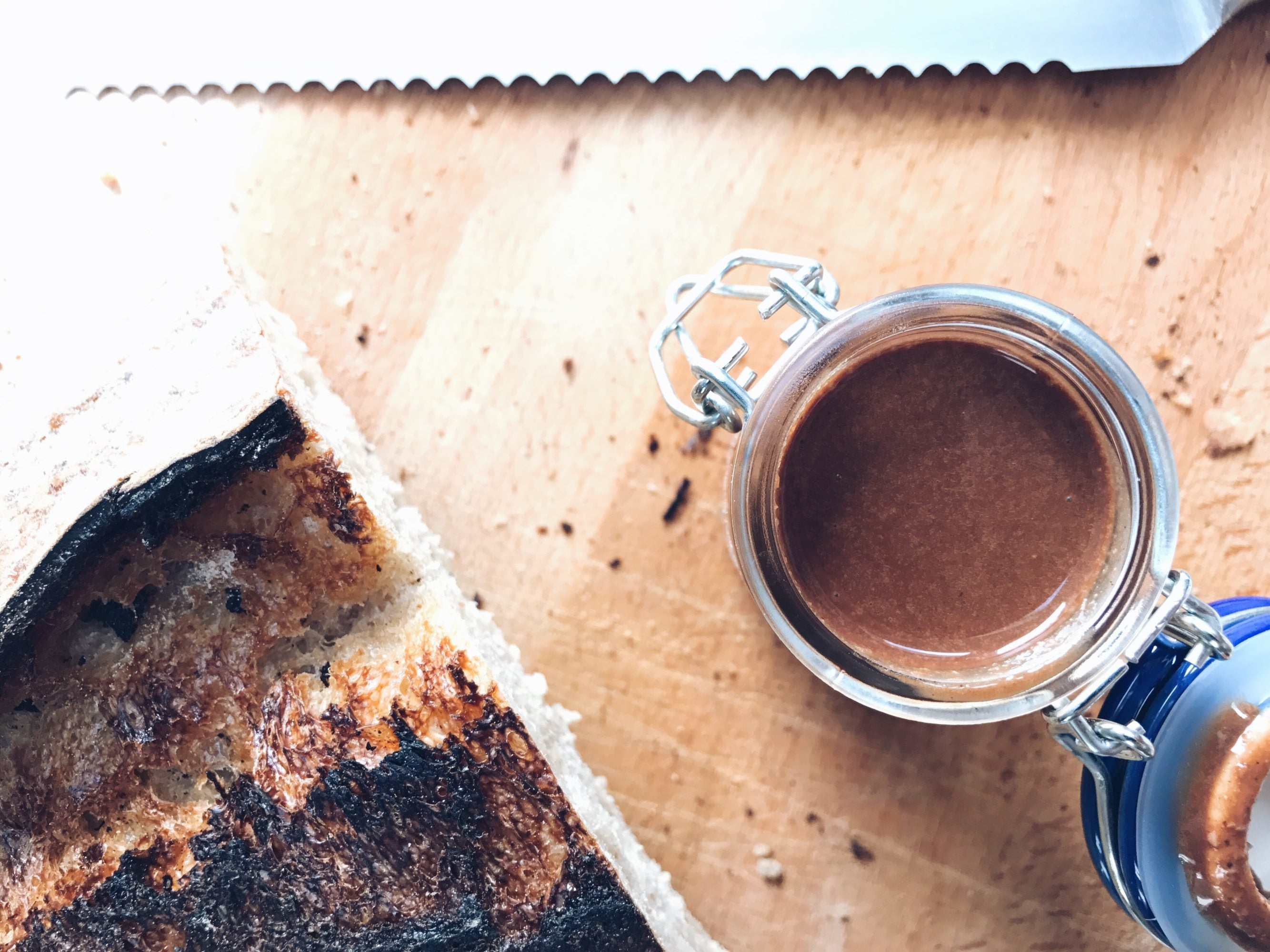 protein nut and cacao spread