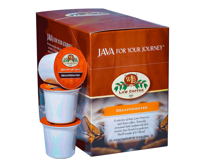Premium Decaf Single Serve Cups