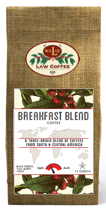 Breakfast Blend--12 oz bags