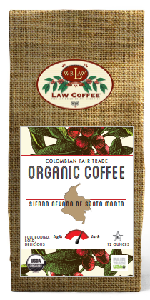 Colombian Fair Trade Organic--12 oz bags