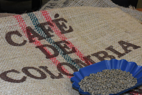 Green Coffee: Huila, Colombia