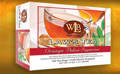 Law's Regular 100 Tea bags